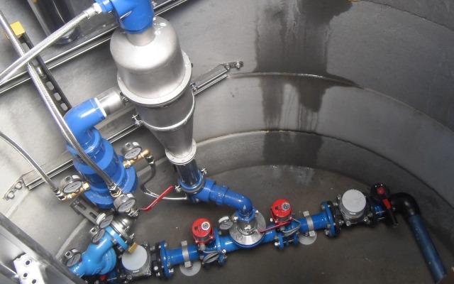 UWEMA-Wasseraufbereitung gegen braunes Grundwasser